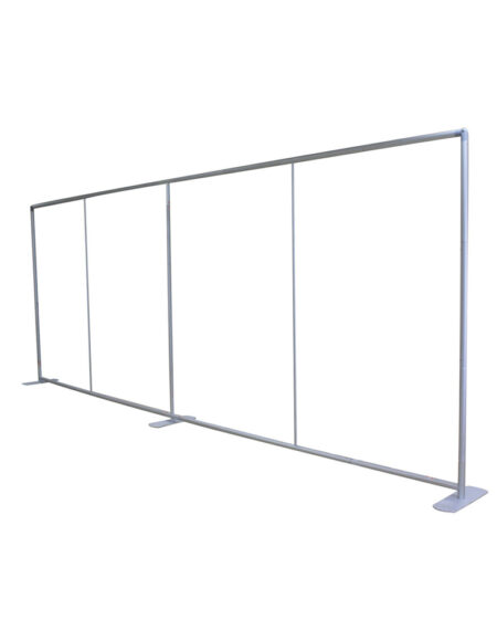 20 ft. Straight Single-Sided Tube Display - Graphic Package