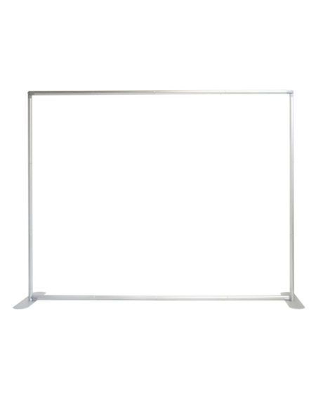 8 ft. Straight Double-Sided Tube Display - Graphic Package